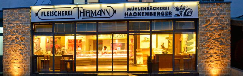 Moderne Ladenlokal der Fleischerei